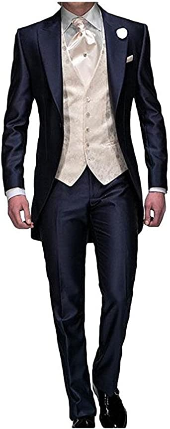 Fashion Newest Men/'s Wedding Suits Groom Tuxedos Business Tailcoats Custom Made