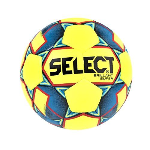 Select Mini Soccer Skills Ball, Yellow/Blue, Size 1