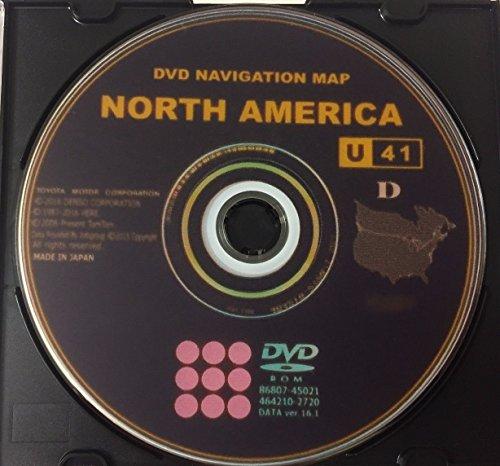 2017 Toyota/Lexus Navigation DVD Gen 5 U41 16.1 Map GPS Update (Toyota Dealer Prius)
