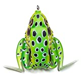 Lunkerhunt LF03 Lunker Frog Series 2.5-Inch Leopard Toad Style Fishing Lure