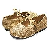 Sara Z Kids Toddlers Girls Glitter Ballet Flat Slip