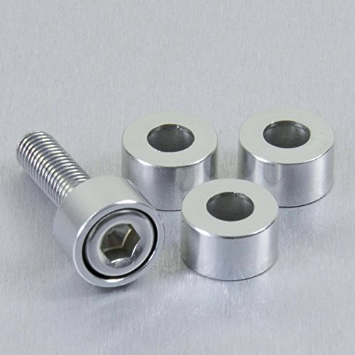 Aluminium Cup Washer M6 Silver