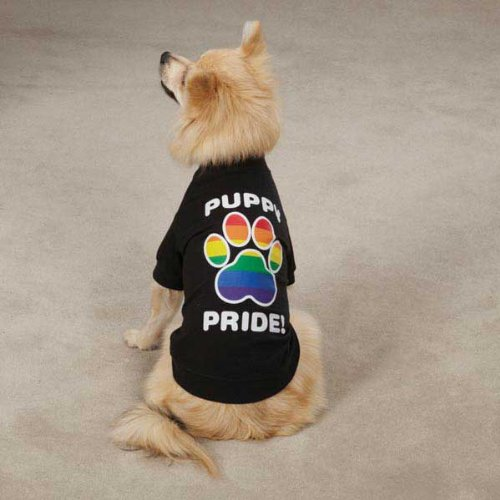Puppy Pride Tees Size: Medium, My Pet Supplies