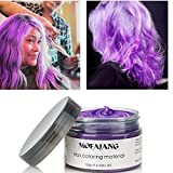 Purple Hair Wax, YHMWAX Instant Hairstyle Mud