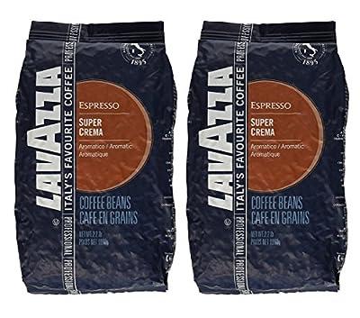 Lavazza 4202A 2.2 Pound Super Crema Espresso Whole Bean by Gaggia