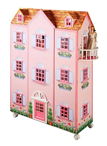 Teamson Paris Mansion Doll House with Furniture by Teamson Design Corp