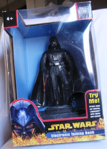 - Star Wars Darth Vader Electronic Talking Bank