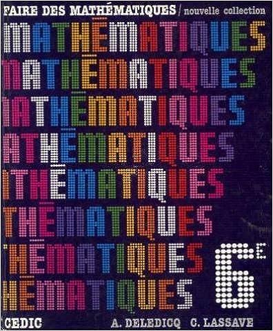 En ligne téléchargement Faire des Mathématiques 6ème pdf