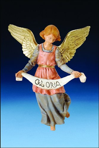 "Fontanini, Roman Inc., 5"""" Gloria Angel Figure"