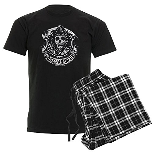 CafePress Sons of Anarchy Unisex Novelty Cotton Pajama Set, Comfortable PJ Sleepwear
