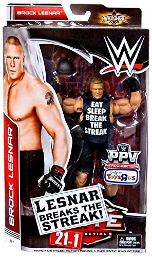 WWE Elite Collection Brock Lesnar Breaks The Streak 21 1 Exclusive Figure Mattel By