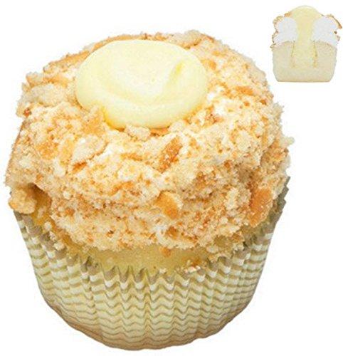 (Banana Cream Pie Cupcakes - Banana Filliing Dessert - 12 Pack - Baked Fresh Day of Order)