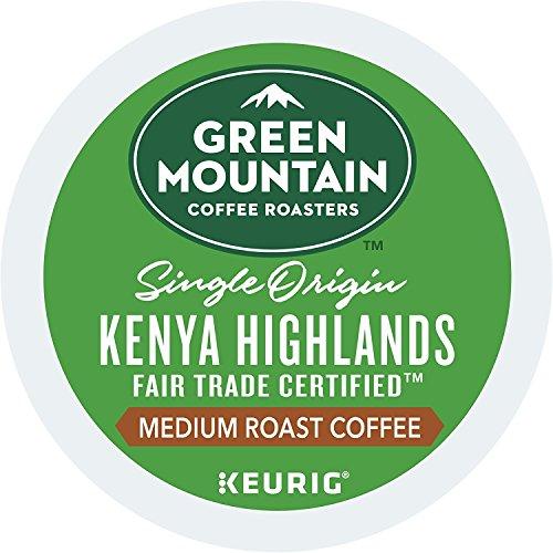 Green Mountain Coffee Roasters Kenya Highlands Keurig Single Origin K-Cup Pods, Medium Roast Coffee, 54 Count