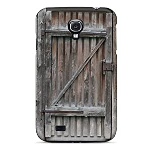 Top Quality Case Cover For Galaxy S4 Case With Nice Wooden Door Appearance