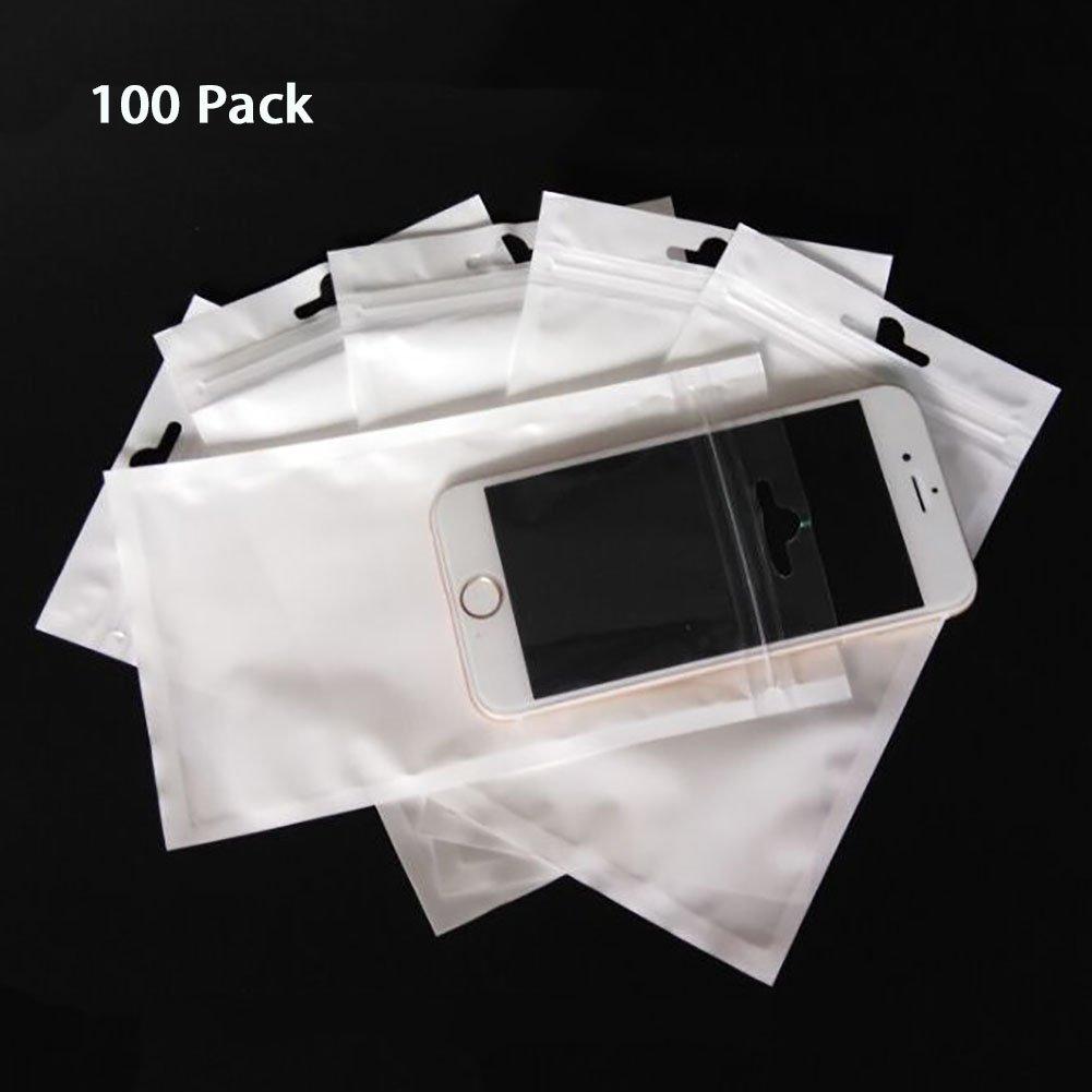 100 unidades bolsas con cierre hermético fuerte reutilizable ...