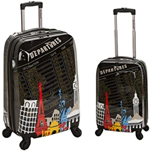 Rockland 2 Piece Departure Polycarbonate Set