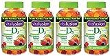 Vitafusion Vitamin D3 Gummy ibcdf Vitamins, Assorted Flavors - 150 Count (4 Pack) xTJQY