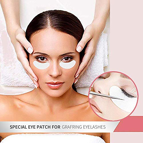 74975be9607 Teenitor Under Eye Pads, Lint Free Lash Extension Eye Gel Patches for  Eyelash Extension Eye