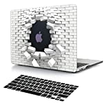 11 inch macbook air cool cases - Dongke 3D Innovative Cool Blasting Design Men Protective Case Hard Cover Sleeve for Apple MacBook Air 11 inch Model A1465 / A1370 with Black Keyboard Cover