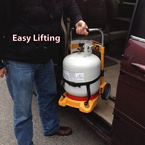 Propane Tank Carrier Cylinder Dolly Easy Cart For Tanks
