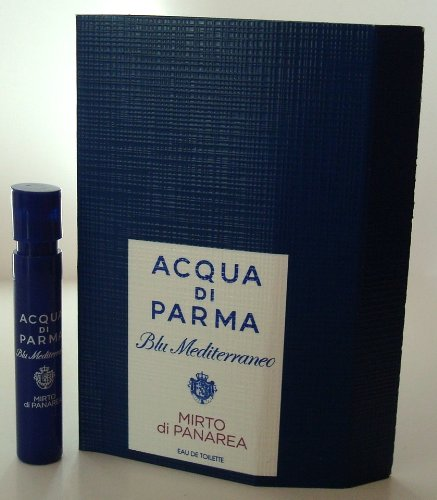 Blu Mediterraneo Mirto di Panarea by Acqua di Parma 0.04 oz EDT Sample Vial (0.04 Ounce Vial)