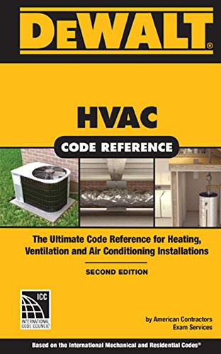 Gas Heating Boilers (DEWALT HVAC Code Reference: Based on the 2015 International Mechanical Code, Spiral bound Version (DEWALT Series))