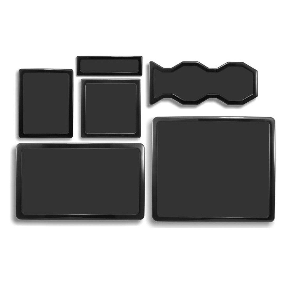 DEMCiflex Dust Filter Kit for Cooler Master HAF 932 (6 Filters), Black Frame/Black Mesh by DEMCiflex