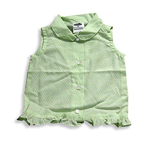 Mulberribush - Baby Girls Sleeveless Blouse Top