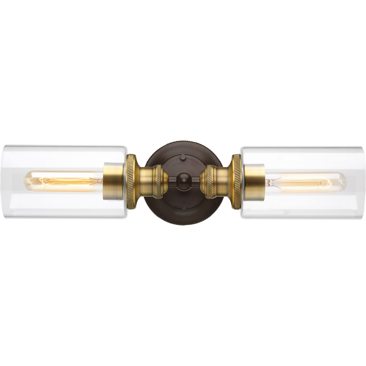 Progress Lighting P2809-20 Traditional/Classic 2-100W Med Bath Bracket, Antique Bronze by Progress Lighting