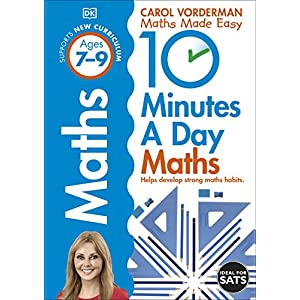10-Minutes-a-Day-Maths-Ages-7-9-Key-Stage-2-Made-Easy-Workbooks-Paperback--17-Jan-2013