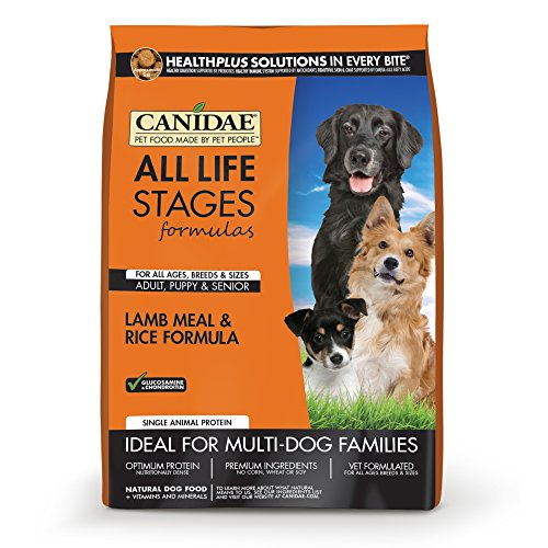 CANIDAE All Life Stages Dog Dry Food Lamb Meal & Rice Formula, 15 lbs