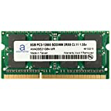 Adamanta 8GB (1x8GB) Laptop Memory Upgrade for Dell Alienware, Inspiron, Latitude, Optiplex, Precision, Vostro DDR3L 1600Mhz PC3L-12800 SODIMM 2Rx8 CL11 1.35v Notebook RAM