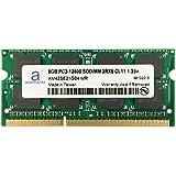 Adamanta 8GB (1x8GB) Laptop Memory Upgrade for HP Elitebook, Pavilion, Probook, ZBook DDR3L 1600Mhz PC3L-12800 SODIMM 2Rx8 CL11 1.35v Notebook RAM