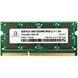 Adamanta 8GB (1x8GB) Laptop Memory Upgrade Compatible with Dell Alienware, Inspiron, Latitude, Optiplex, Precision, Vostro DDR3L 1600Mhz PC3L-12800 SODIMM 2Rx8 CL11 1.35v Notebook RAM