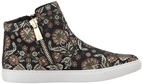 Kenneth Cole New York Donna Kiera Alta Cima Broccato Moda Sneaker Beige / Multi