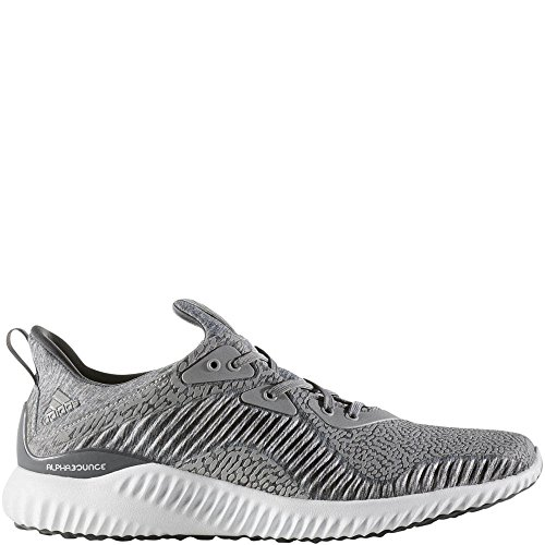 adidas Performance Men's Alphabounce HPC Ams m Running Shoe Medium Grey Heather/Grey/White 11 M US