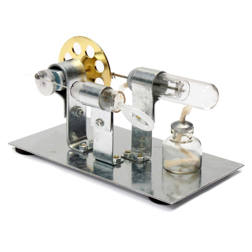 At27clekca Hot Air Stirling Engine Model Motor Steam Power Physics Toy Electric Generator by At27clekca (Image #5)