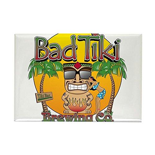 CafePress - Bad Tiki - Revised Magnets - Rectangle Magnet, 2