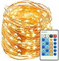 TaoTronics 66ft 200 LED String Lights Dimmable Festival Decorative Lights for Seasonal Holiday, Complete Waterproof, UL...