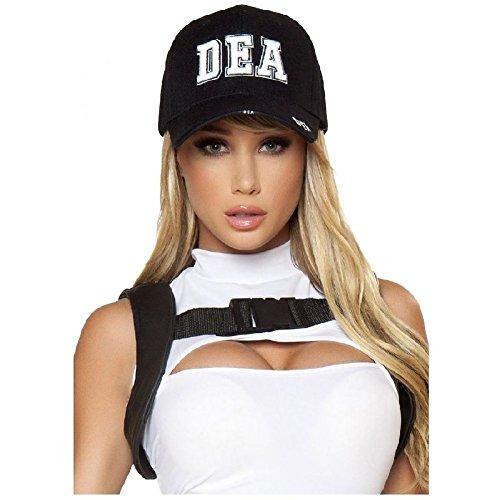 DEA Hat Adult Police Sexy Cop Halloween Costume Fancy Dress - Cop Halloween Costumes For Tweens