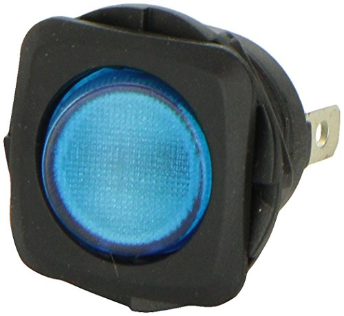 HELLA H61926001 Switch Rocker SPST INC Blue