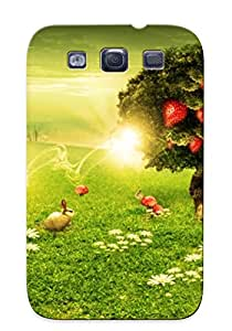 New Refulgentu Super Strong Original Starry Night Tpu Case Cover For Galaxy S3