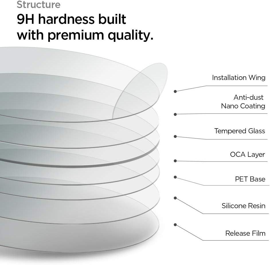 3PACK Spigen Tempered Glass Screen Protector Designed for Garmin ...