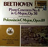 Beethoven: Piano Concerto No.4 in G Major, Op.58 / Polonaise in C Major, Op.89
