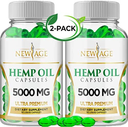 New Age Hemp Oil Capsules