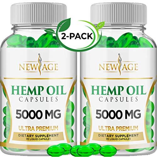 2 Pack Hemp Oil