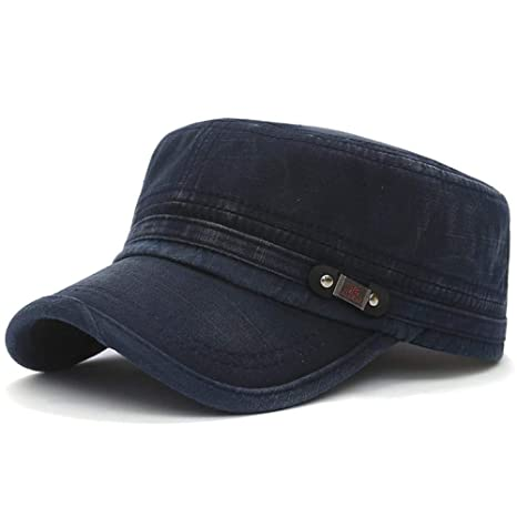 FBXYL Sombreros Militares De Algodón para Hombres Mujeres Gorras ...