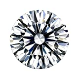 Diamonbella Brilliant 10 Hearts 10 Arrows Loose Simulated Diamond Ideal Round Cut 2 Ct (8 mm) LSRD-80