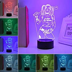 51gcGwxaGjL._AC_UL250_SR250,250_ Harley Quinn Night Lights