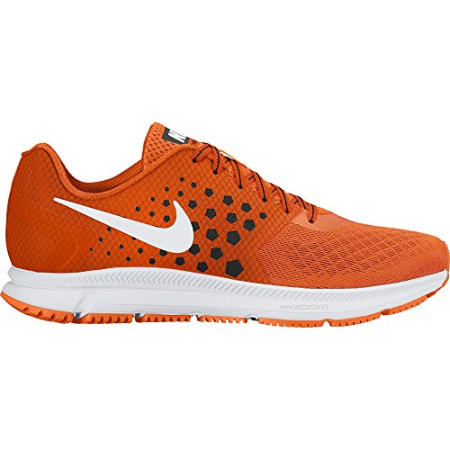 NIKE Men's Air Zoom Span Running Shoe Total Orange/White/Black Size 15 M US Review